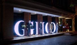 светодиодны обьемные буквы в витрине ЭШ