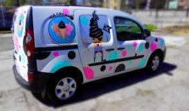 брендирование машины наклейка на машину